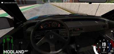 Honda Civic Si 1986, 2 photo