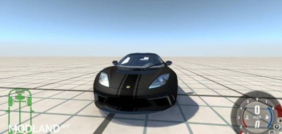 Lotus Evora GTE 2011 Black Car Mod, 3 photo