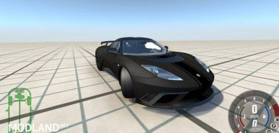 Lotus Evora GTE 2011 Black Car Mod, 1 photo