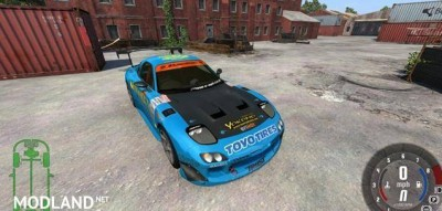 Mazda RX-7 Drift GReddy Car Mod [0.6.1], 1 photo