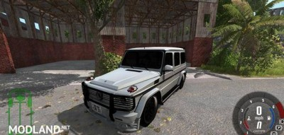 Mercedes-Benz G65 Car Mod