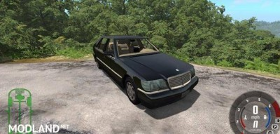 Mercedes-Benz S600 Car Mod