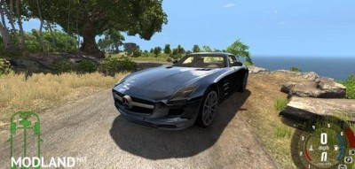 Mercedes-Benz SLS AMG Car Mod, 3 photo