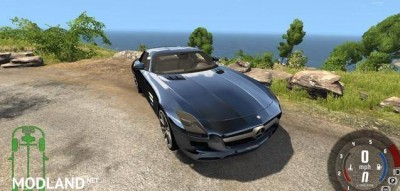 Mercedes-Benz SLS AMG Car Mod