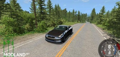 Nissan GT-R R35 Spec Car Mod, 2 photo