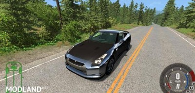 Nissan GT-R R35 Spec Car Mod, 3 photo