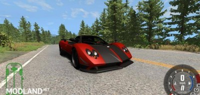 Pagani Zonda Cinque Roadster 2009 Car Mod, 1 photo