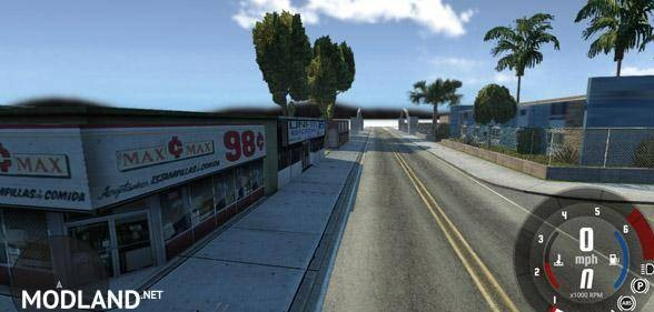 San Andreas Grove Street Map