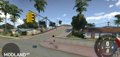 San Andreas Grove Street Map, 2 photo