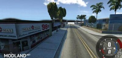 San Andreas Grove Street Map, 1 photo