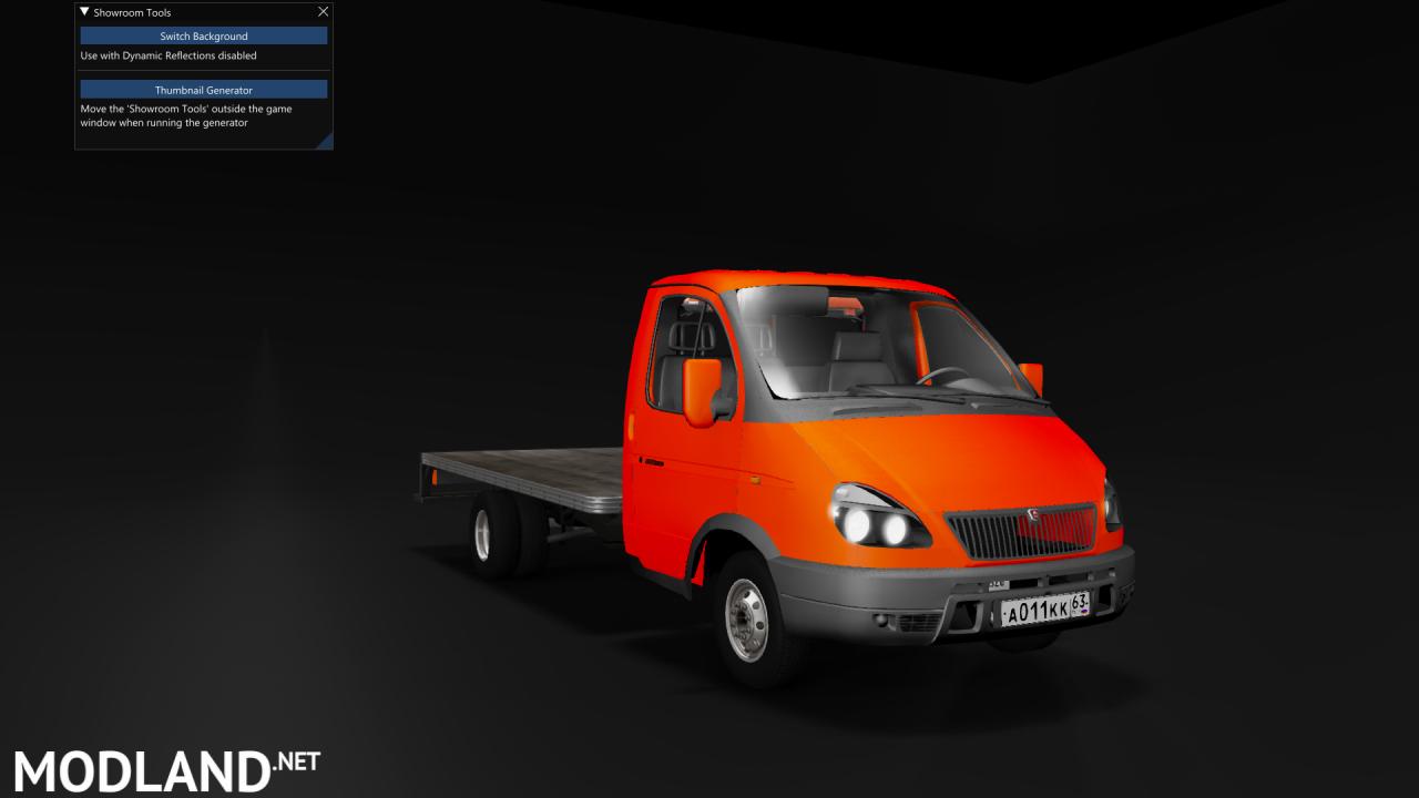 GAZ 3302 GAZELLE (Reworked)