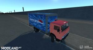 Kamaz Booth Pespsi truck