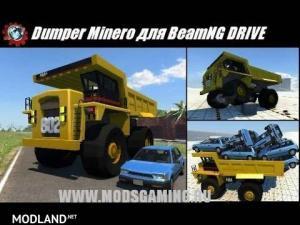 Dumpster Minero Truck