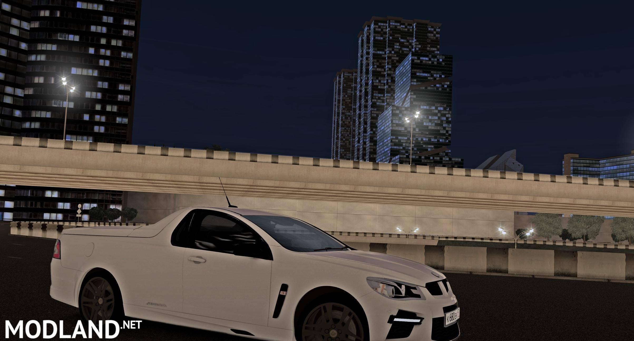 2014 HSV GTS Maloo mod City Car Driving