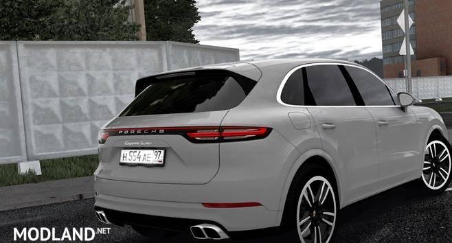 1099cb69fce 2019 Porsche Cayenne Turbo [1.5.8] mod City Car Driving