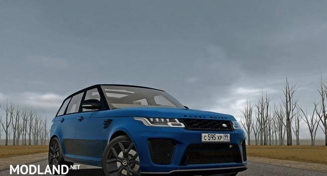 2018 Range Rover Sport SVR [1.5.8]