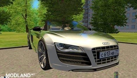 Audi R8 GT Spyder Car Download