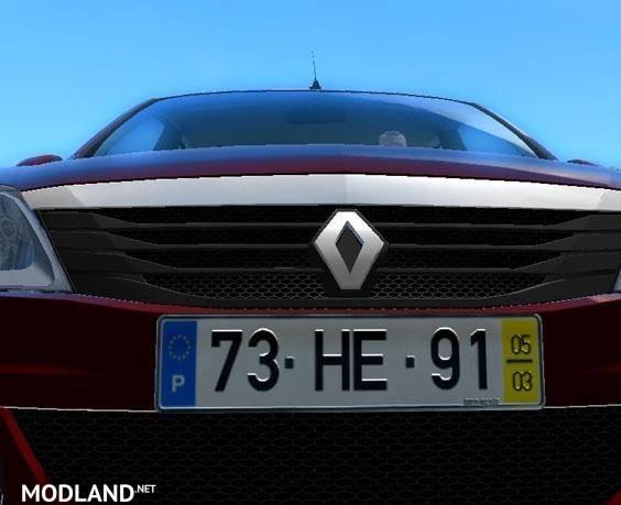 Portuguese license Plate [1.4]