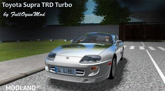 Toyota Supra TRD Turbo Car [1.4.1]