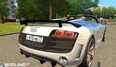 Audi R8 GT Spyder Car Download, 2 photo