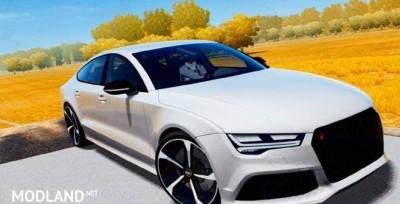 Audi RS7 Blacket Out Trim Mod, 3 photo