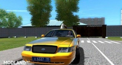 Ford Crown Victoria Taxi Mod [1.5.2], 1 photo