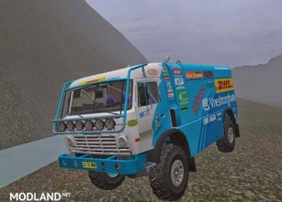 KamAZ 4911 Rally Truck [1.4.1]