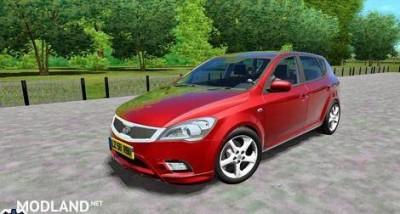 Kia Ceed 2011 Car [1.4]