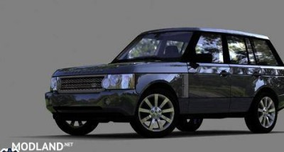 Range Rover Supercharged 2008 Car Download, 1 photo