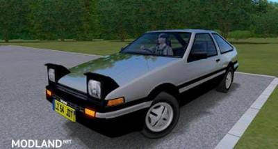 Toyota Corolla Trueno AE86 – 1.2.5, 1 photo