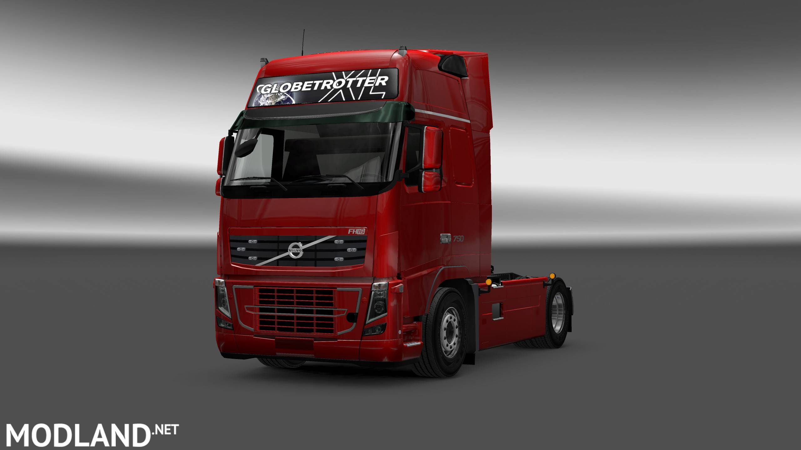 Volvo FH16 2009 Interior/Exterior Rework v 1.1 mod for ETS 2 Scania Trucks Interior