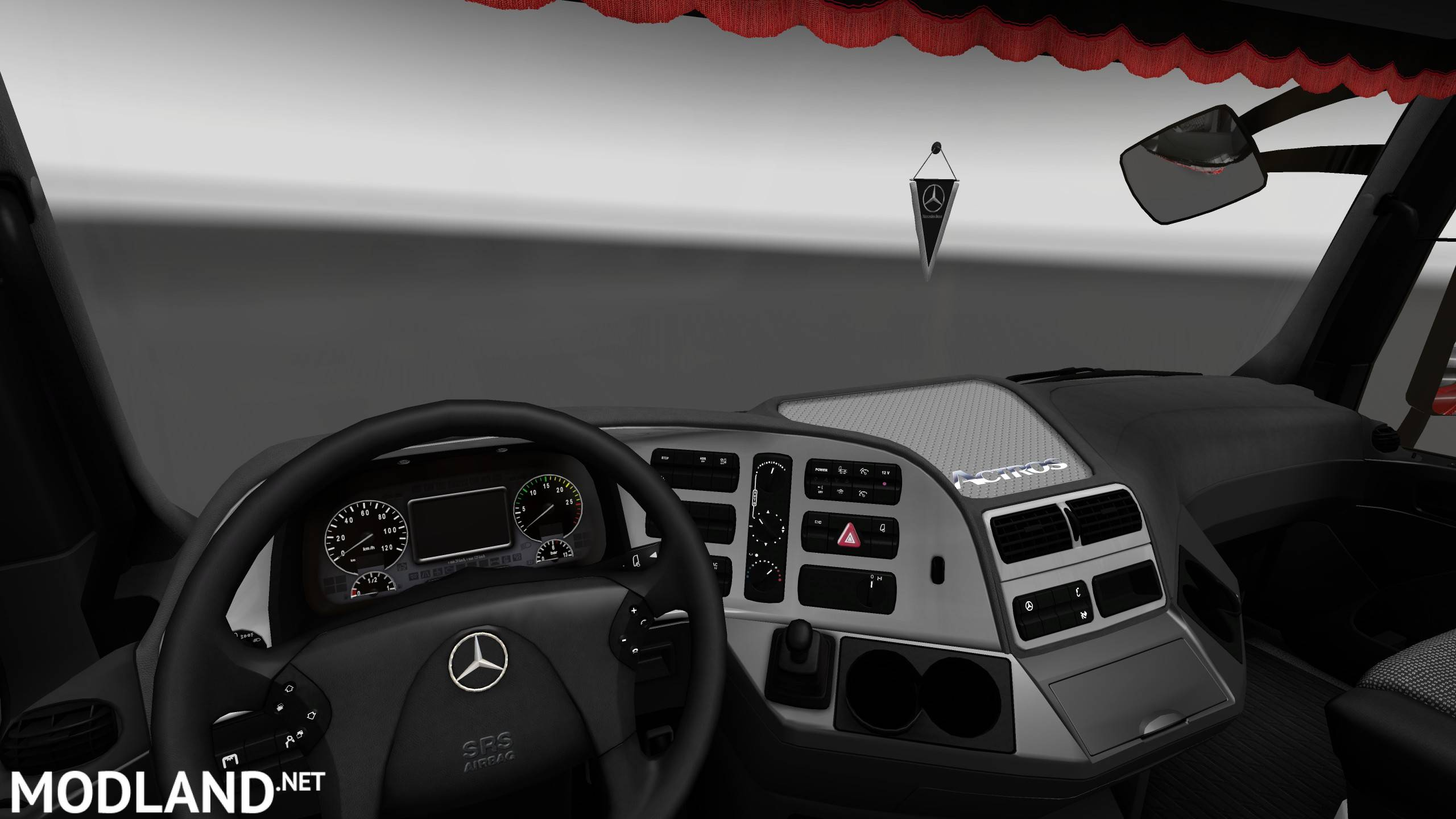 Mercedes Benz Actros Mp3 Interior Exterior Rework Ver 1 1