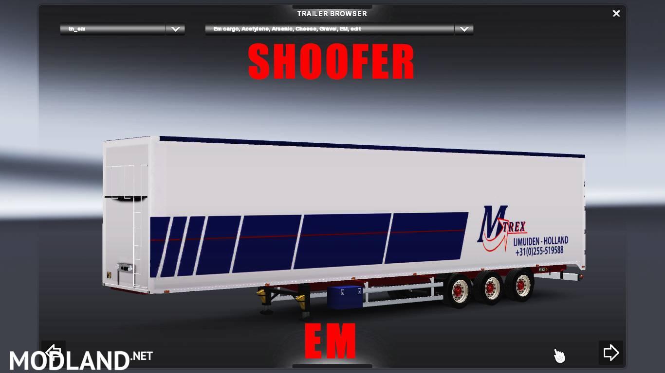 Volvo Semi Truck Parts >> MTrex trailer mod for ETS 2