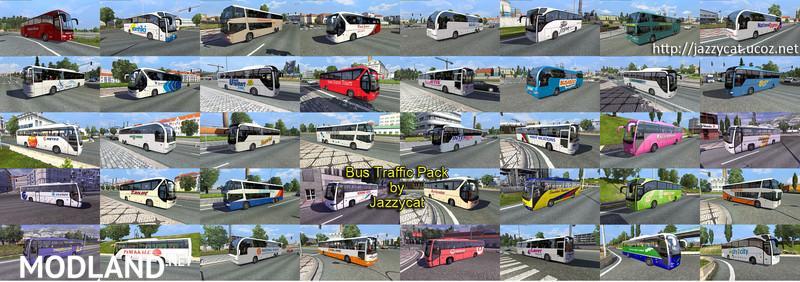 Bus traffic pack v 1 1 mod for ETS 2