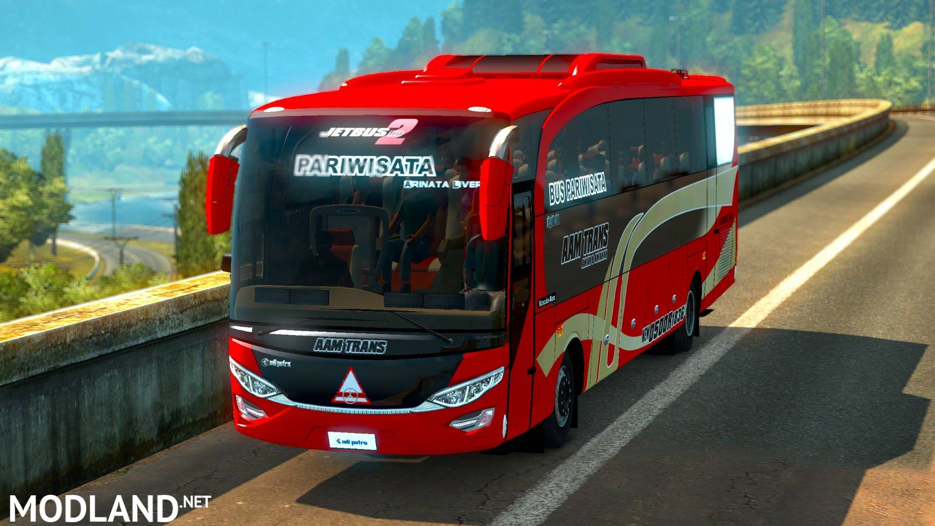 Mercedes Benz JetBus for 1.26 mod for ETS 2