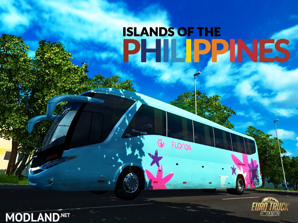 Islands of the Philippines G7 v 2 0 mod for ETS 2