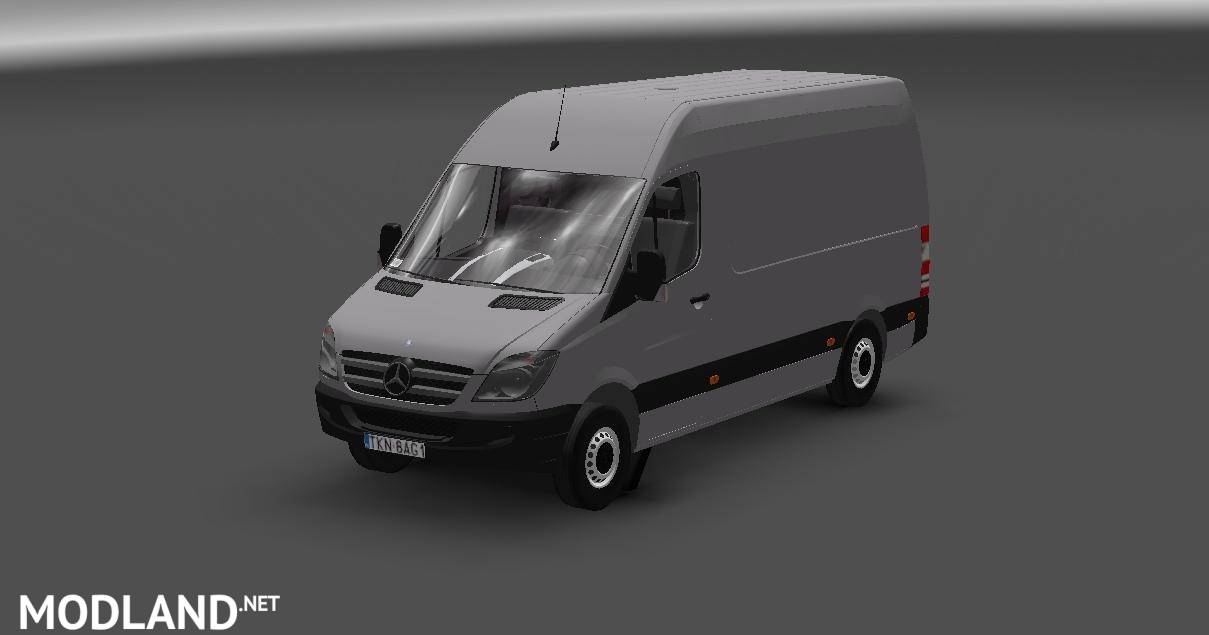 MERCEDES BENZ SPRINTER v2 0 mod for ETS 2