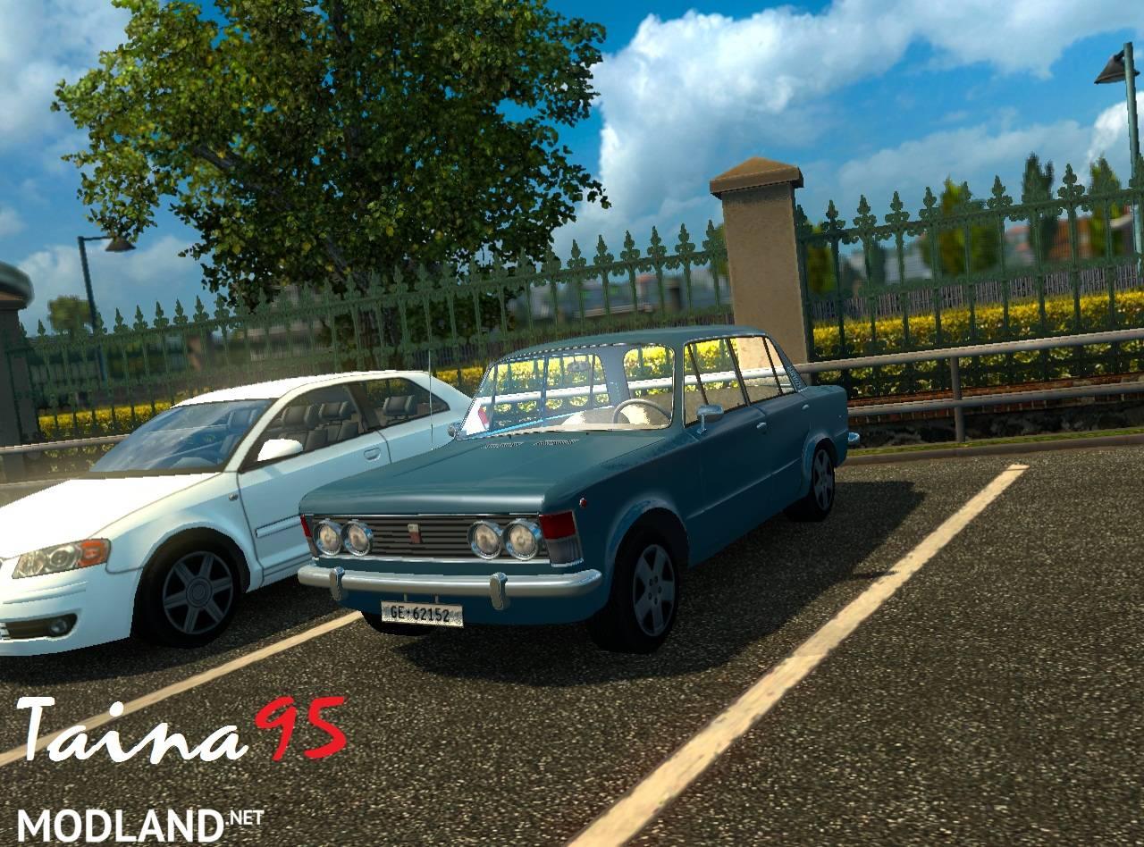 Fiat 125P Ai Traffic mod for ETS 2