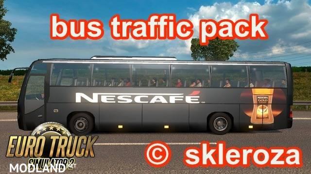 Bus traffic V-1 0 for 1 24 mod for ETS 2
