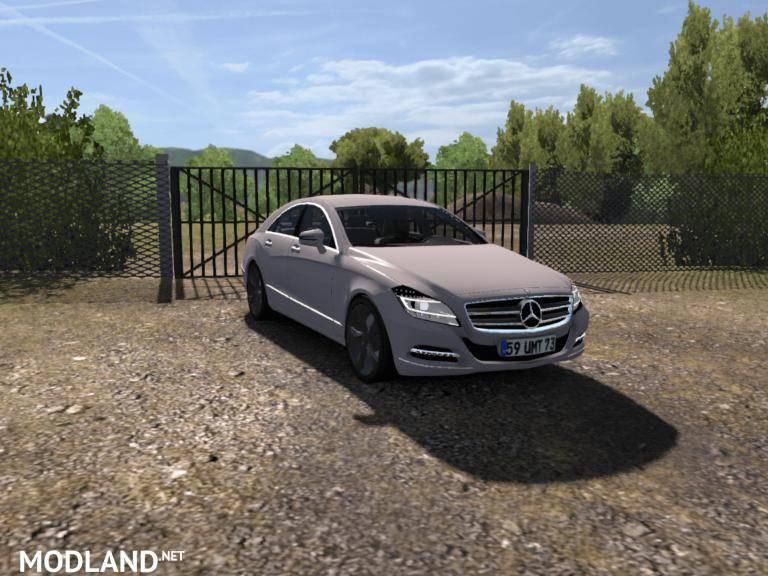 2013 Mercedes CLS V2 1 35 x mod for ETS 2
