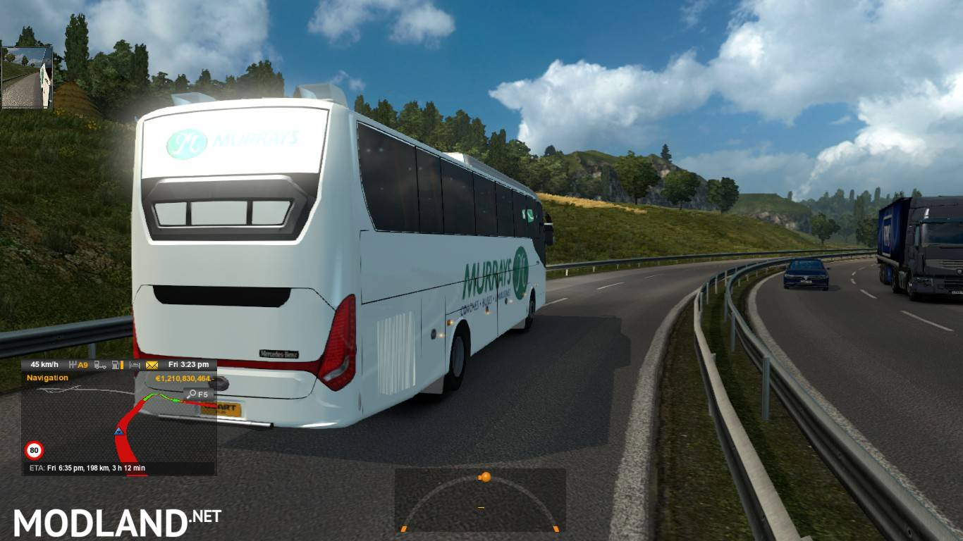 Marcedez Benz Maxibus (Murray's Australia) mod for ETS 2