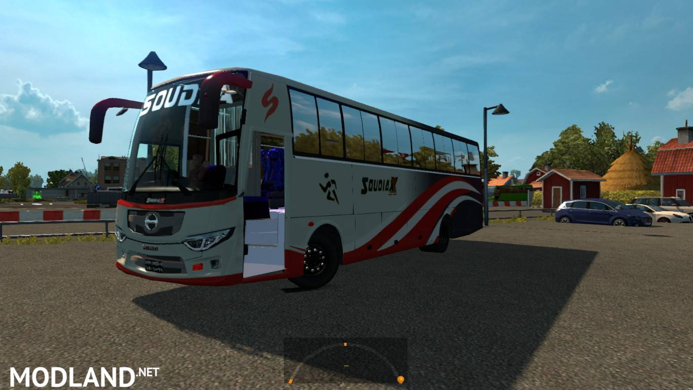 Soudia X Hino AK1J for 1 31 mod for ETS 2