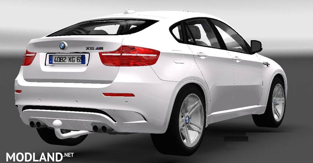 Bmw X6m Trailer Mod For Ets 2