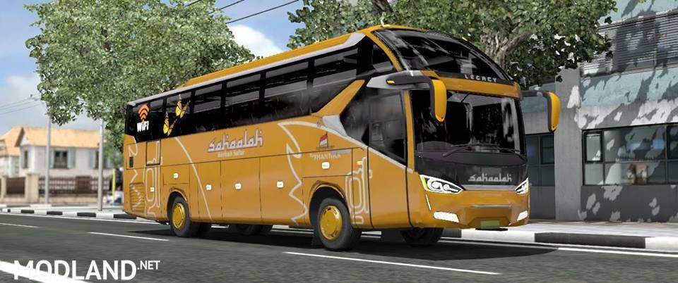 Mod Bus SR2 XHD PRIME by FPS Indonesia mod for ETS 2
