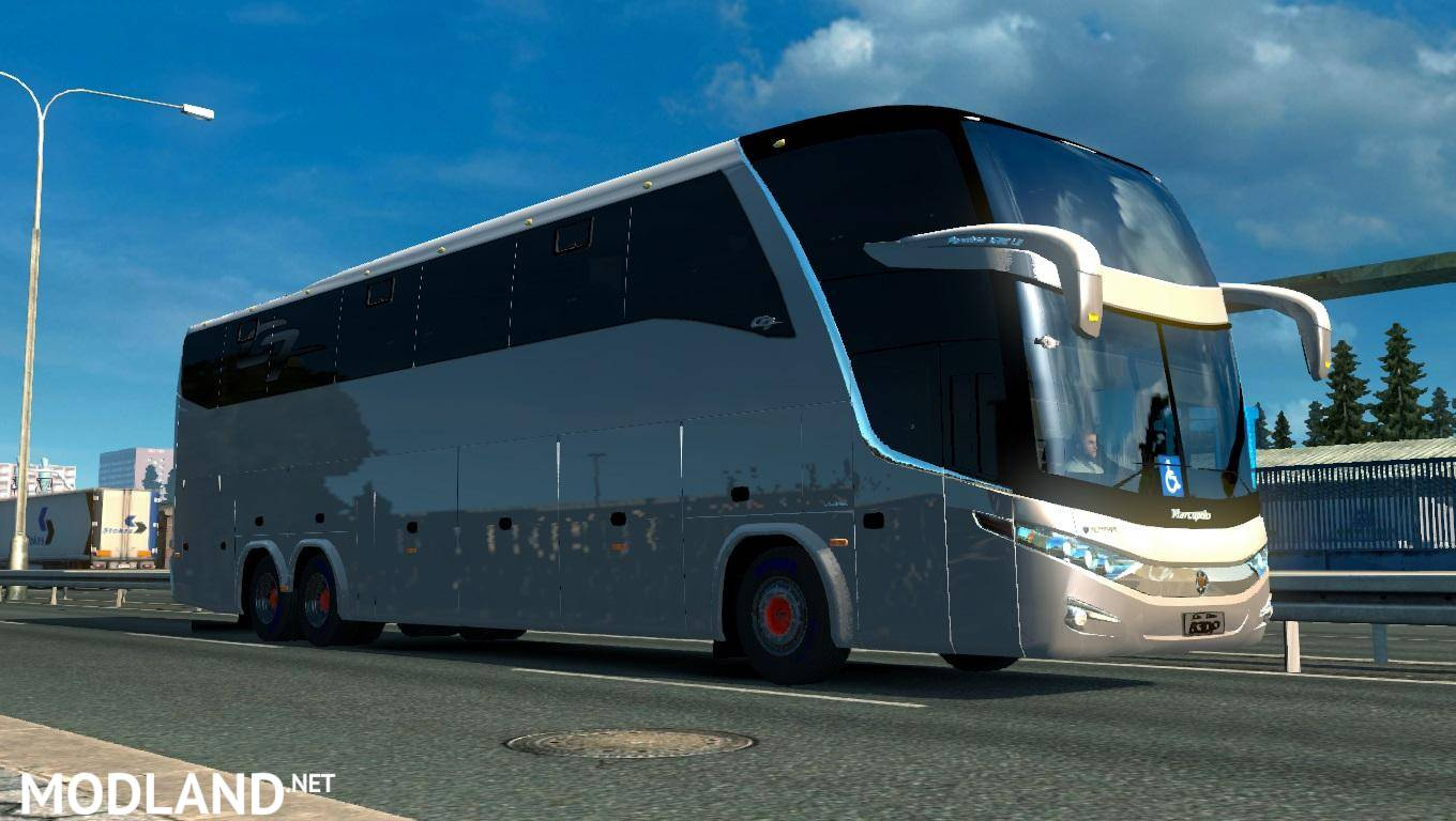 Marcapolo G7 1600 LD 6x2 1.22.x mod for ETS 2