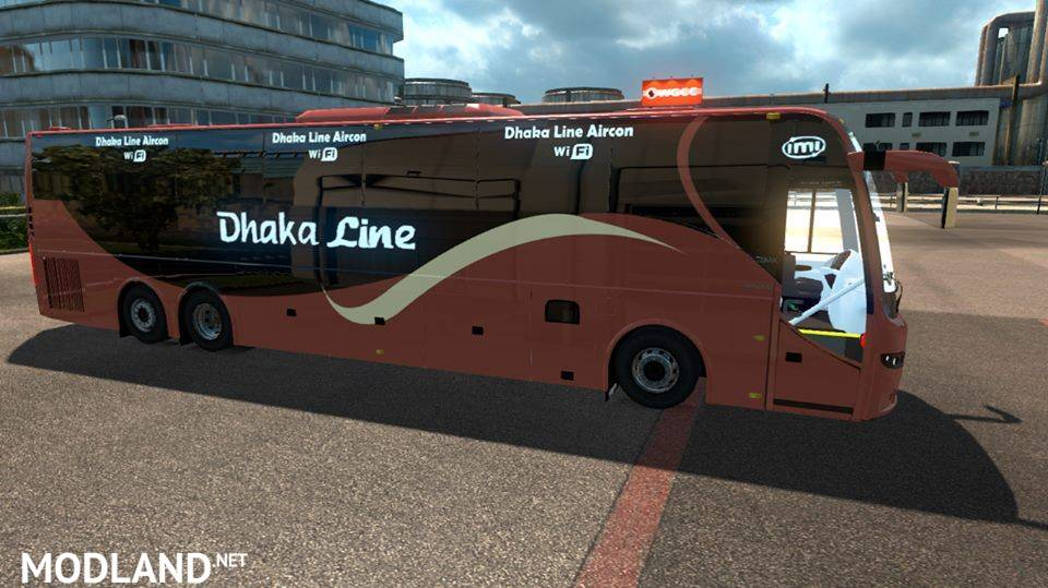 Volvo 9700 Old bus update 1 31 mod for ETS 2