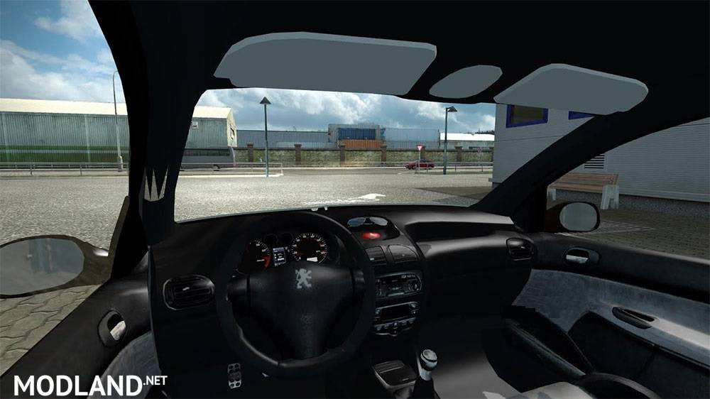peugeot 206 mod for ets 2. Black Bedroom Furniture Sets. Home Design Ideas