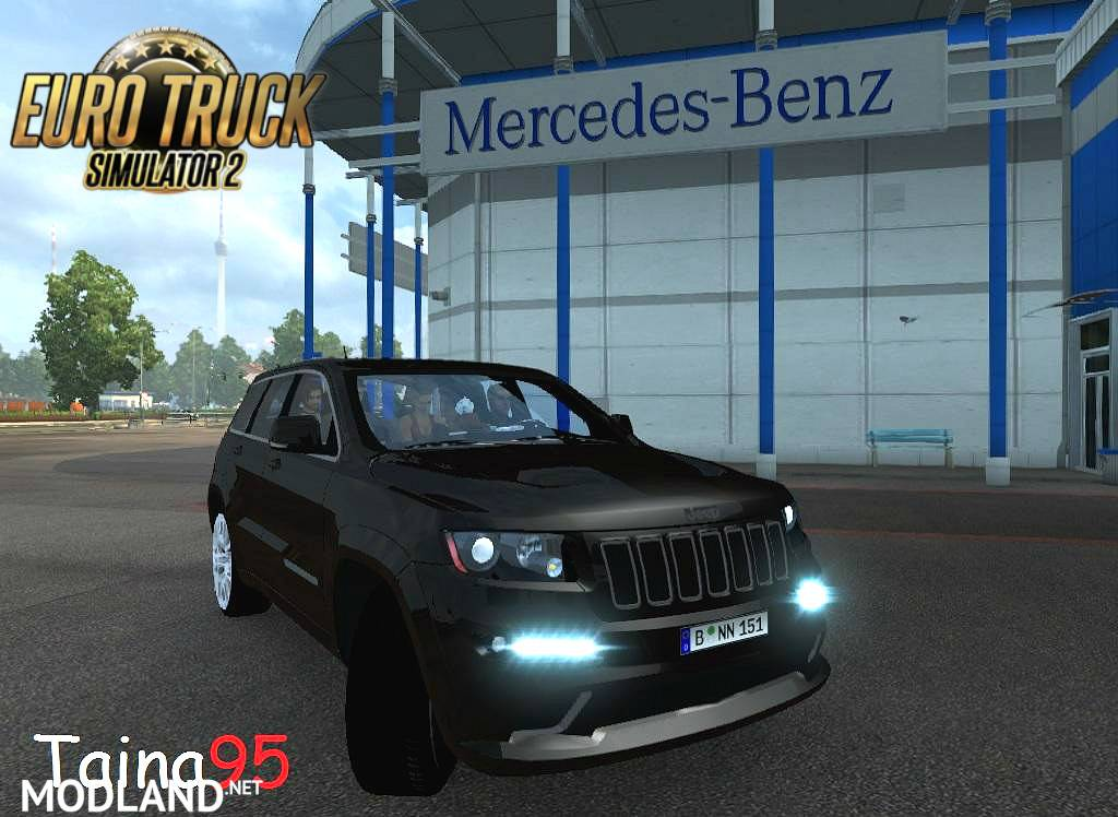 Jeep Grand Cherokee Srt8 V1 0 Mod For Ets 2