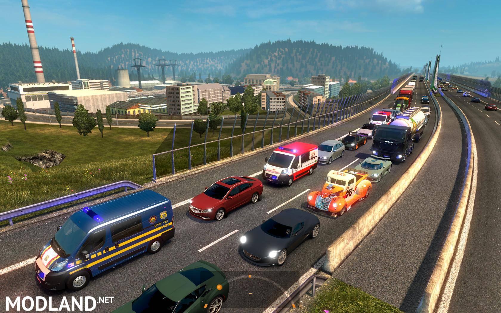 Great Mod on Traffic! ETS2 v1 24 BETA mod for ETS 2