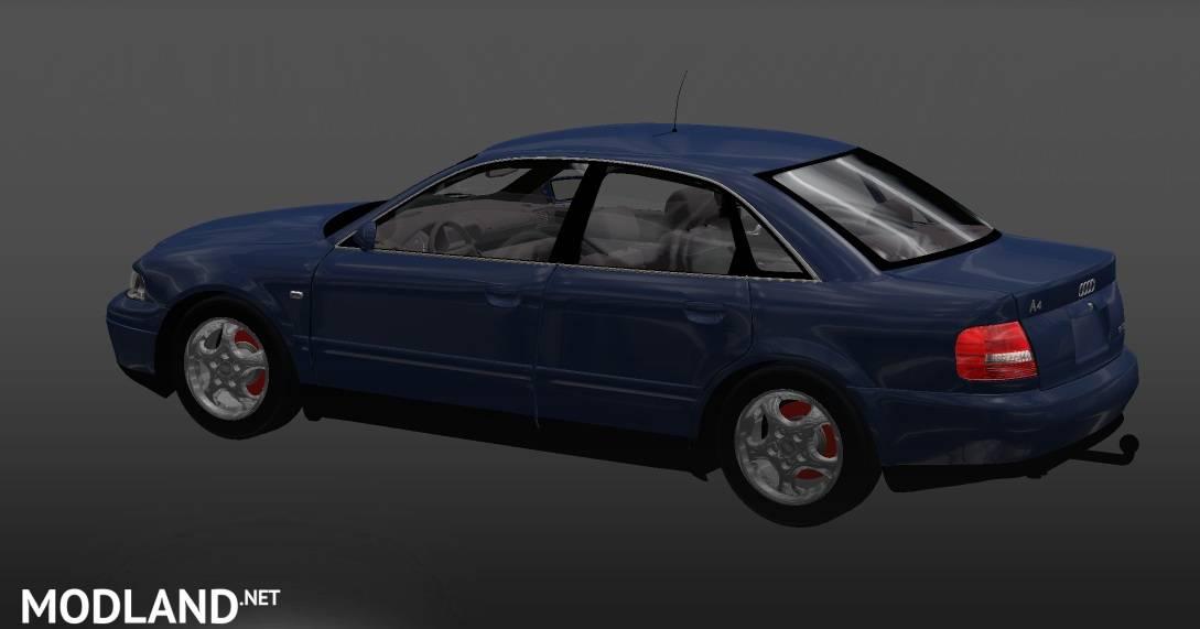 Audi A4 + Interior v1 22 mod for ETS 2